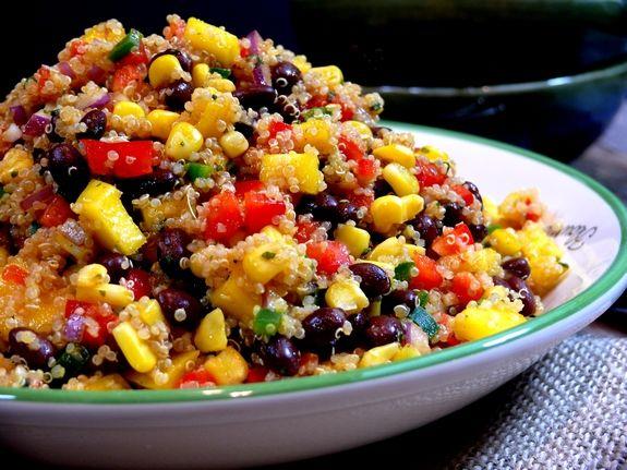 ... Quinoa Black Beans Corn Salad, Beans Mango, Quinoa Salad, Southwestern