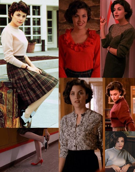 What the Frock? - Affordable Fashion Tips, Celebrity Looks for Less: Inspired By: Audrey Horne from Twin Peaks