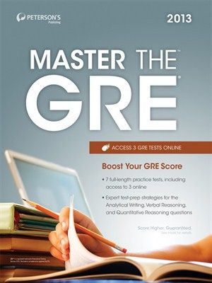 Master the GRE 2013 byPeterson's -- The new version of the GRE General Test is designed to better predict your overall performance in grad school, and Peterson's Master the GRE is your one-stop guidebook for preparing for the revised test.