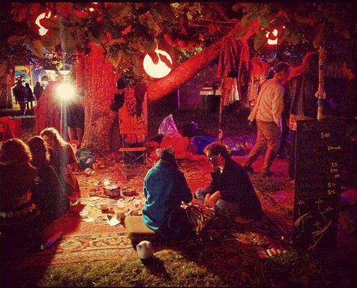 Falls Festival 'The Village' - Lorne, Victoria - Australia.