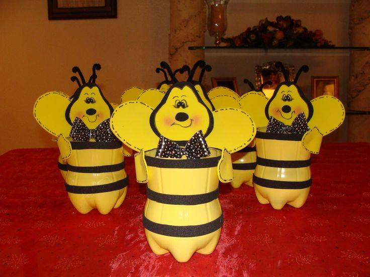 Пчелы поделка для сада