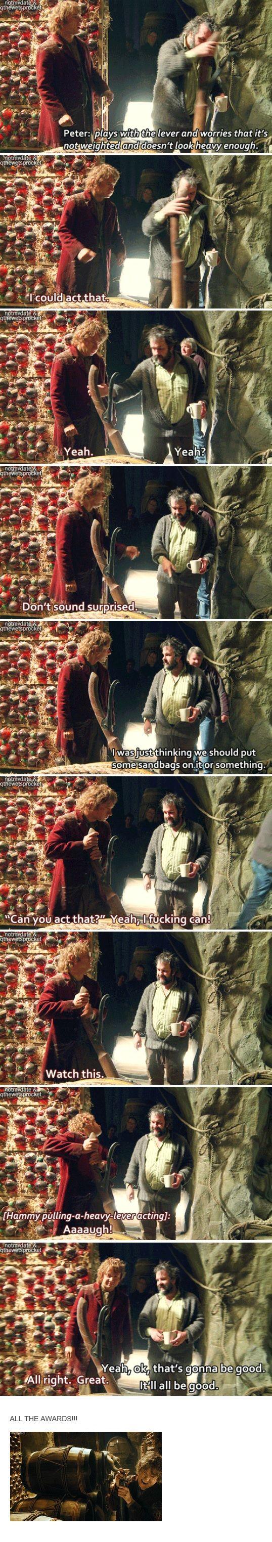 Martin Freeman's fantastic acting