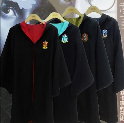 New 2016 Harry Potter Robe Gryffindor Cosplay Costume Kids Adult Harry Potter Robe Cloak Halloween Costumes For Kids-in Clothing from Novelty & Special Use on Aliexpress.com | Alibaba Group