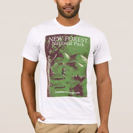 New Forest, Hampshire, England T-Shirt - tap, personalize, buy right now!
