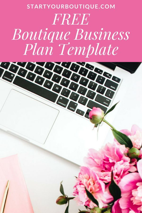 how to create a business plan for your online boutique
