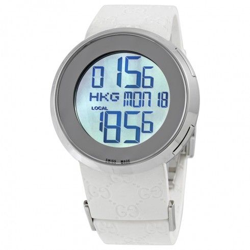 Gucci I-Gucci Digital Black Ladies Watch YA114401 - I-Gucci - Gucci - Shop Watches by Brand - Jomashop