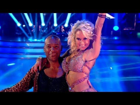 Colin Salmon & Kristina dance to 'I Got You (I Feel Good)' - Strictly Come Dancing 2012 - BBC One