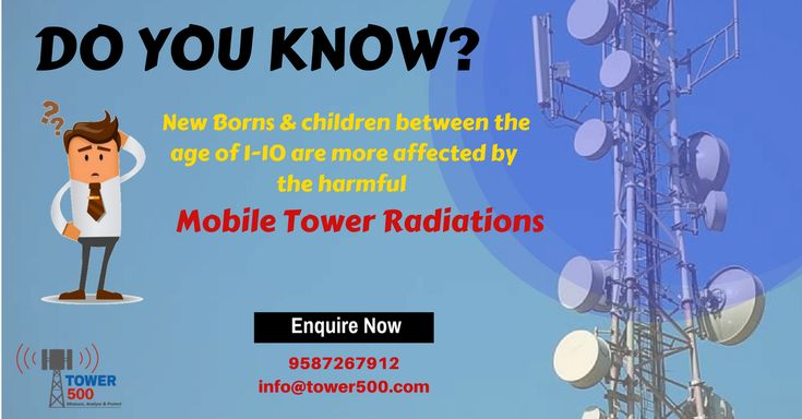 Protect your child from harmful mobile tower radiations.  Contact team Tower500 for live radiation audit at your home/office premises.  Enquire more at tower500.com or Give us a call at 9587267912 #TowerRadiation #Mobiles #MobileTowerRadiation #Babycare #Healthcare #Diseases #Childrens #Protection