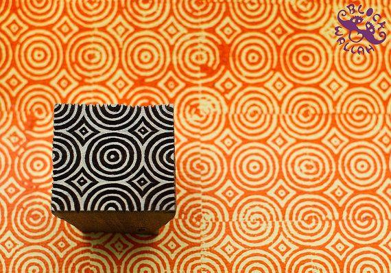 Círculos bloque de impresión de estampillas de la India