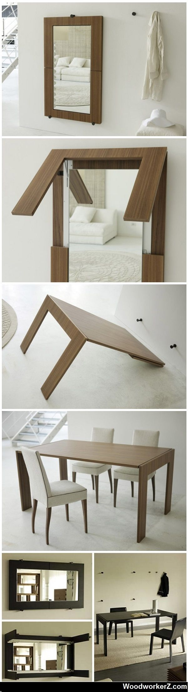 Mirror … Table conversion..I want this as a craft/sewing table