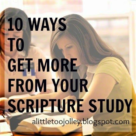 Dont yield to Satans lie that you dont have time to study the scriptures. Choose to take time...