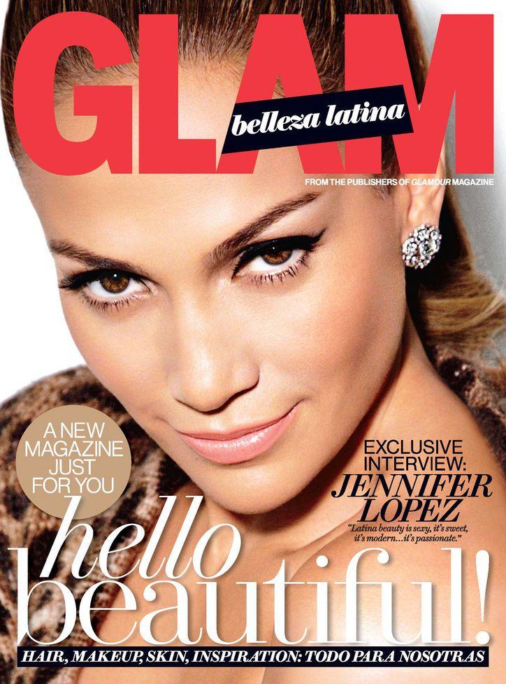 The one and only J.Lo graces the very first issue of Glam Belleza Latina! Find out how to get that glow: http://glmr.me/XG4rP3