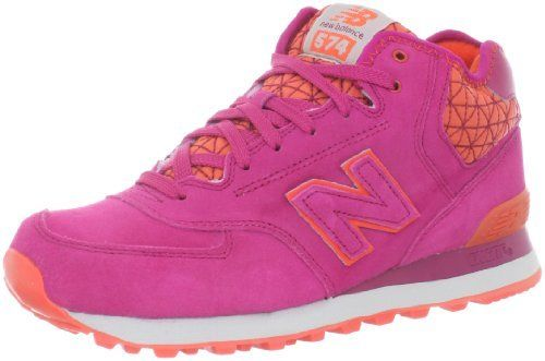 New Balance Women's WH574 Winter Elements Sneaker New Balance. $69.95. Rubber sole. Leather-and-fabric