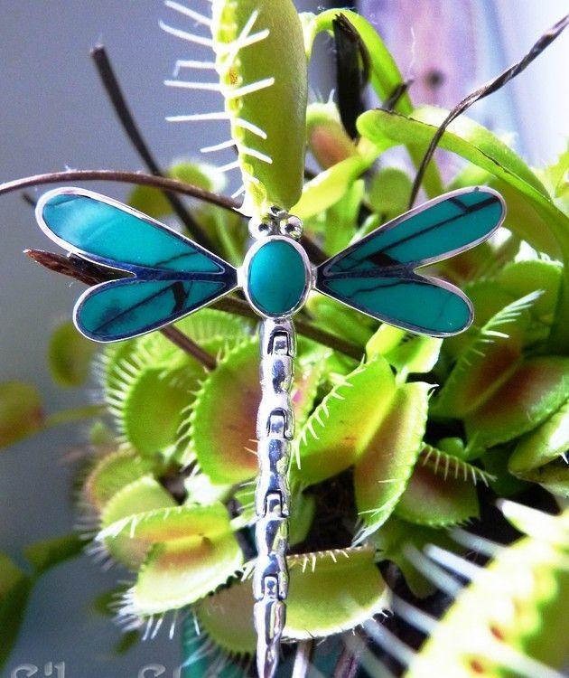Silver Pendants  Dragonfly pendant