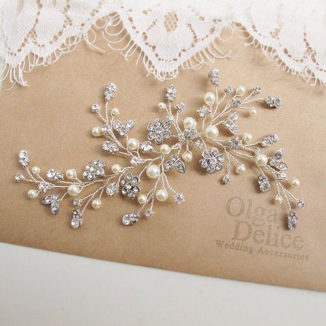 Украшение для невесты Анны))) #OlgaDelice