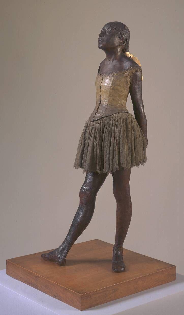 Edgar Degas 'Little Dancer Aged Fourteen', 1880–1, cast c.1922