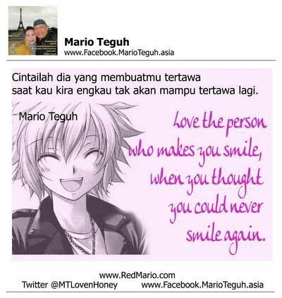Quotes by Mario Teguh