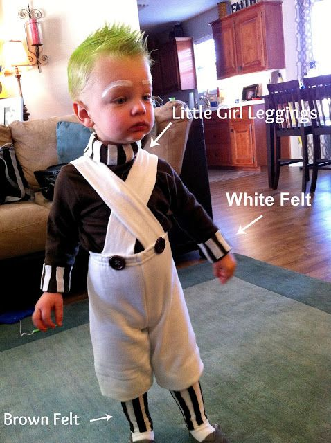 Life's Sweetest Little Blessings: DIY- Oompa Loompa