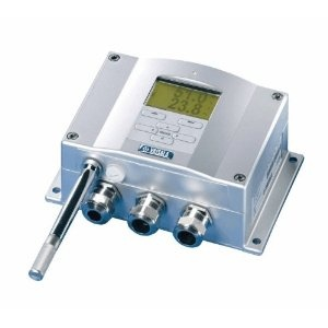 Universal Transmitter With Integral Probe, No Display. These transmitters provide reliable and long-term stability of humidity and temperature measurements. Select RH/temperature transmitters or universal transmitters—with or without a display. The RH/temperature transmitters measure relative humidity and temperature. The universal transmitters measure relative humidity, temperature, dew point, absolute humidity, wet bulb, mixing ratio, and enthalpy. Transmitters with a display provide both…