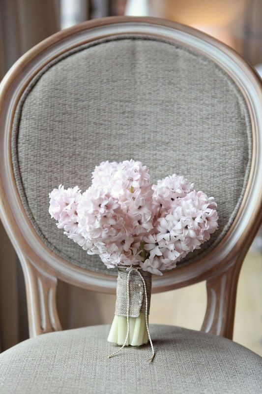 Hyacinth bouquet #rockmyspringwedding @Rock My Wedding