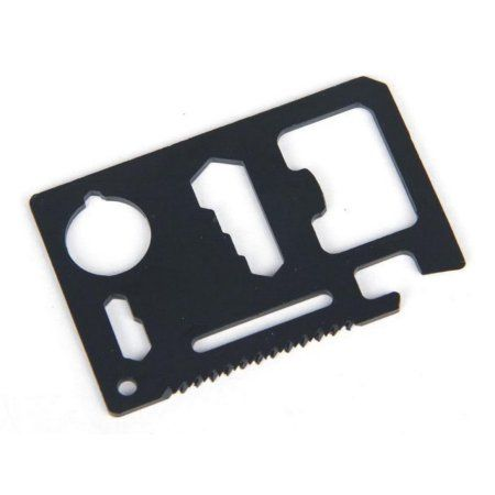 Wallet Multi Function Tool - Black