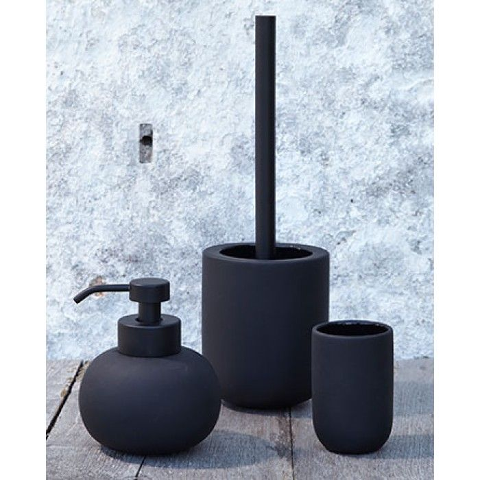 DESIGNSTUFF - METTE DITMER Yin Yang Soap Dispenser Black $60AUD (sold out)