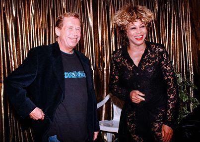 Tina Turner & Vaclav Havel