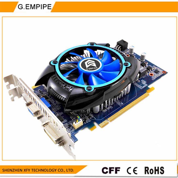 For PC PCI-E 1GB DDR5 128Bit GTS450 Graphics Card fan Placa de Video carte graphique