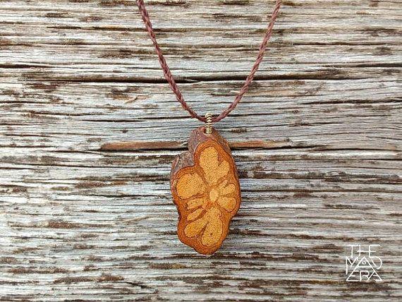 Ayahuasca Vine Necklace, ayahuasca pendant, caapi, spiritual jewelry