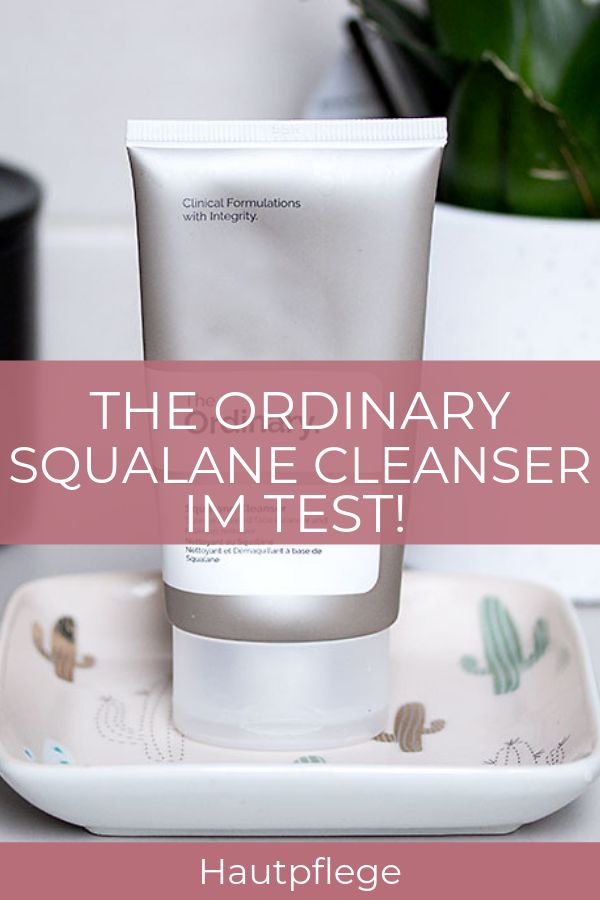 The Ordinary Cleanser im Test!