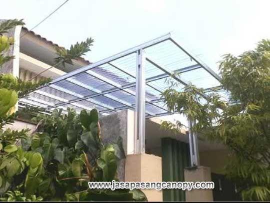 Jasa Pemasangan Kanopi Baja Ringan Atap Solartuff