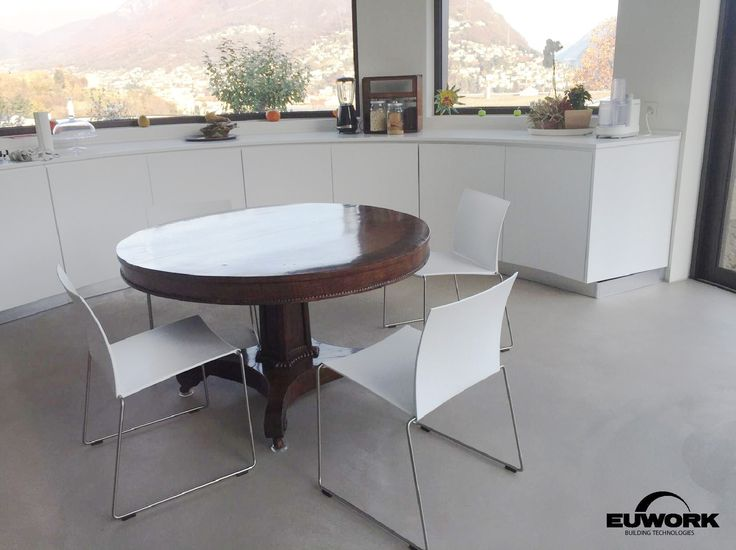 Euwork Living System used for the floors of a private villa in Lugano, Switzerland. Euwork Building Technologies www.euwork.it