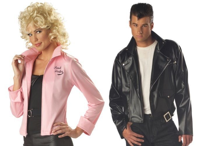 Grease Couples' Costumes -- Danny and Sandy