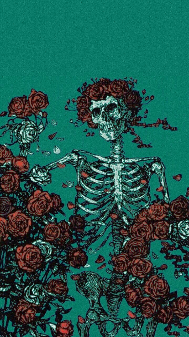 Tumblr image by ( Skull wallpaper, Aesthetic wallpapers