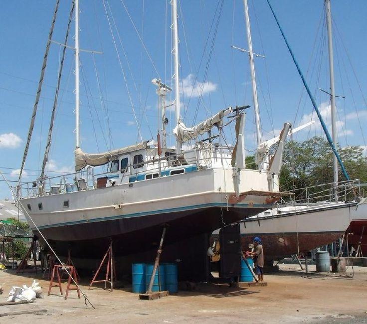 1980 17m Pilothouse Ketch Power Boat For Sale - www.yachtworld.com