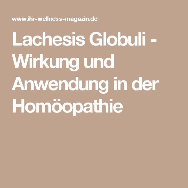Lachesis Globuli - Wirkung und Anwendung in der Homöopathie