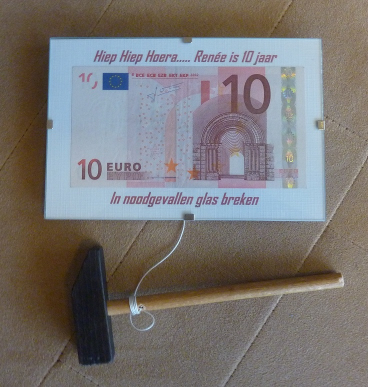 Geniale manier om geld kado geven!