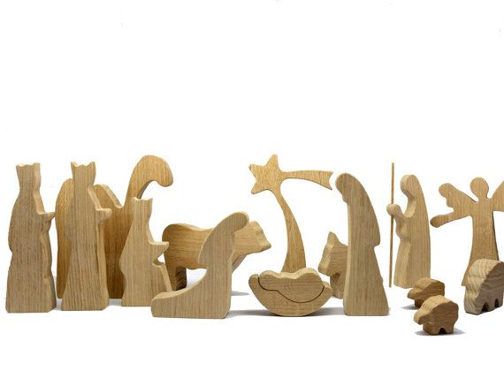 39 best holzkripen bauen images on pinterest christmas - Krippe modern holz ...
