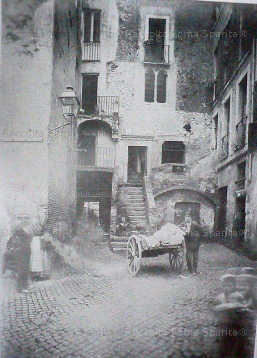 Roma Sparita - Piazzetta Rua 1886