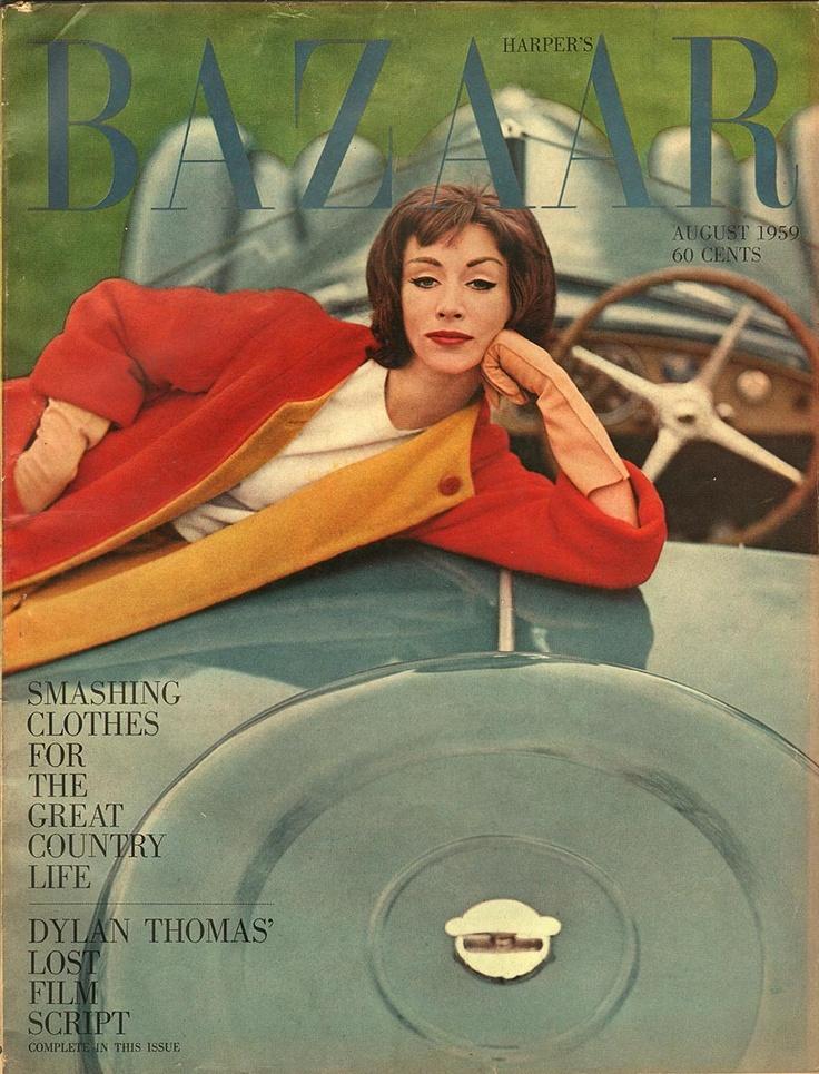Harpers Bazaar August 1959 - EphemeraForever.com