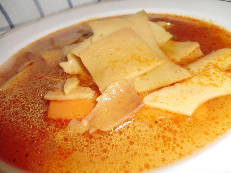Lebbencsleves recept