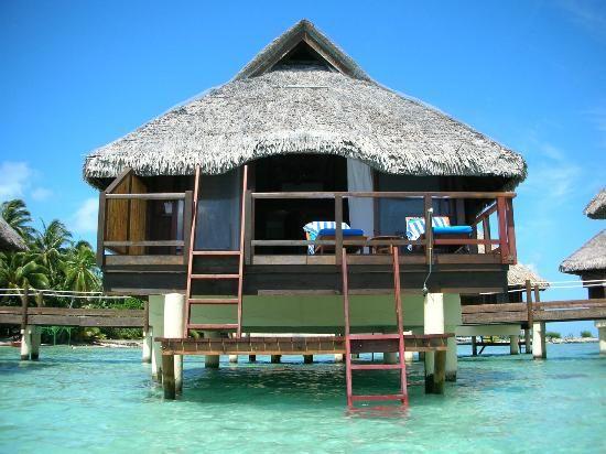 Bora Bora Pearl Beach Resort & Spa: Bungalow overwater..=) dream big.