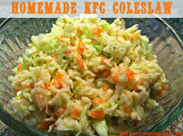 Homemade Sugar-Free KFC Coleslaw - THM (FP) - This is good but I thought it was a little too sweet so I'll back the sweetener down next time.