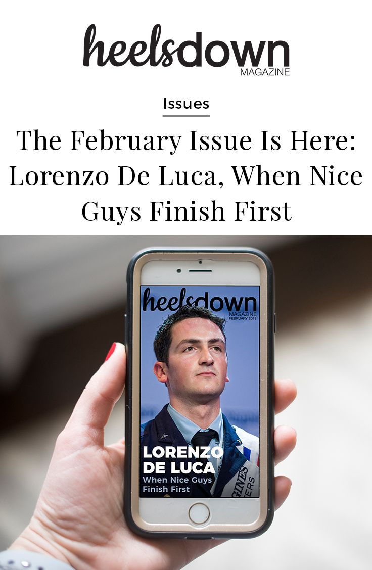 """It feels good to root for the """"nice guy,"""" like 30-year-old Lorenzo de Luca. The Italian show jumper may be among the best in the world, but those who know him best say his heart has and always will be in the horses. [Read more...]"""