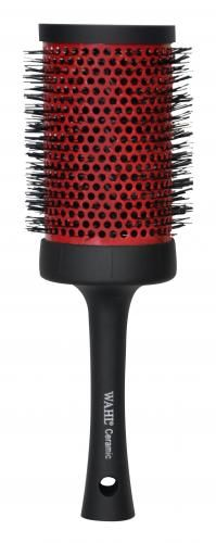 """Wahl - Canada - Professional Hairdressing - Hair Styling Tools - Red Ceramic Thermal Round Brush 3½"""" #55529"""