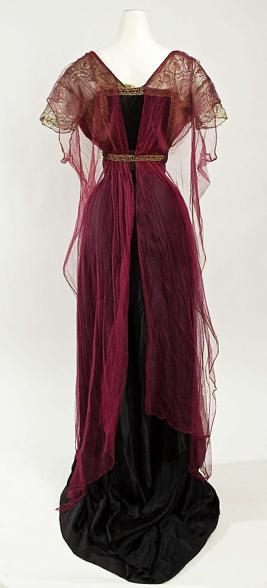 Dress, Evening  Callot Soeurs ca. 1911