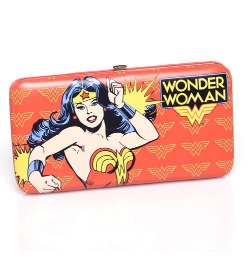 GEEK FASHION / Retro Wonder Woman Hinge Wallet : TruffleShuffle.com