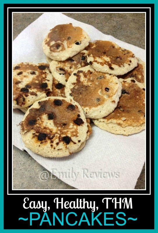 Easy healthy breakfast - old fashioned oat pancakes recipe from trim healthy mama. #thm #trimhealthymama
