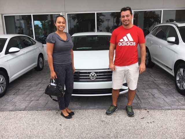 Danielle Ilker Recently Took Home This Beautiful New 2019 Volkswagen Jetta Which They Purchased With Our Team Member D Volkswagen Volkswagen Jetta Vw Dealer