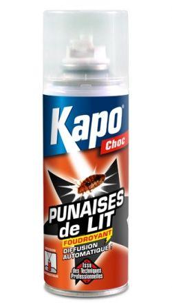 Aérosol diffusion continue punaises de lit 200ml Kapo